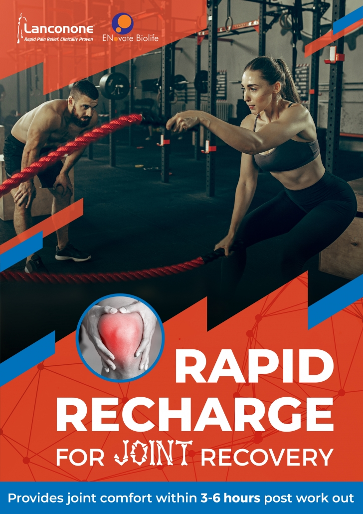 Rapid recharge for joint recovery